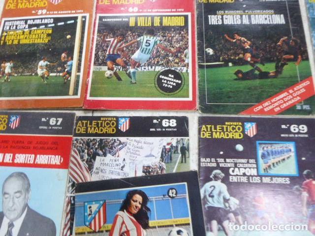 Coleccionismo deportivo: LOTE DE 13 REVISTAS DEL ATLETICO DE MADRID. AÑOS 70. LAS DE LAS FOTOS. - Foto 2 - 183541252