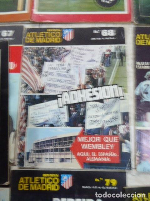 Coleccionismo deportivo: LOTE DE 13 REVISTAS DEL ATLETICO DE MADRID. AÑOS 70. LAS DE LAS FOTOS. - Foto 3 - 183541252