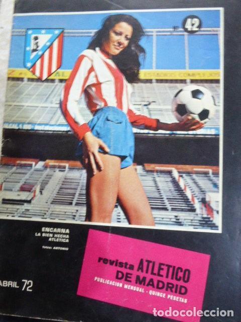 Coleccionismo deportivo: LOTE DE 13 REVISTAS DEL ATLETICO DE MADRID. AÑOS 70. LAS DE LAS FOTOS. - Foto 4 - 183541252
