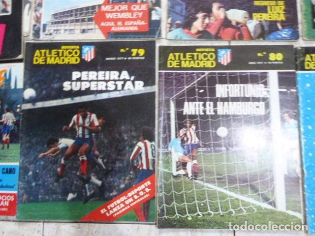 Coleccionismo deportivo: LOTE DE 13 REVISTAS DEL ATLETICO DE MADRID. AÑOS 70. LAS DE LAS FOTOS. - Foto 6 - 183541252