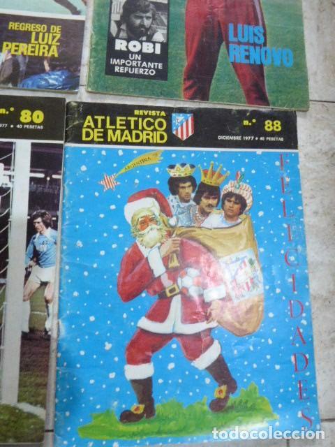 Coleccionismo deportivo: LOTE DE 13 REVISTAS DEL ATLETICO DE MADRID. AÑOS 70. LAS DE LAS FOTOS. - Foto 7 - 183541252