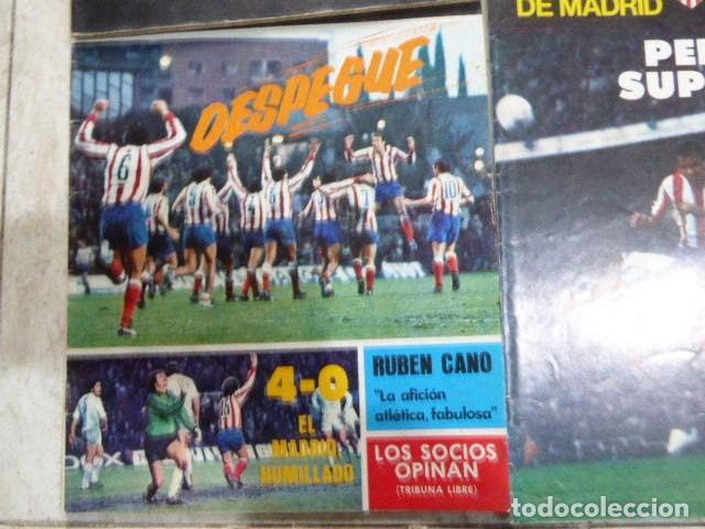 Coleccionismo deportivo: LOTE DE 13 REVISTAS DEL ATLETICO DE MADRID. AÑOS 70. LAS DE LAS FOTOS. - Foto 8 - 183541252