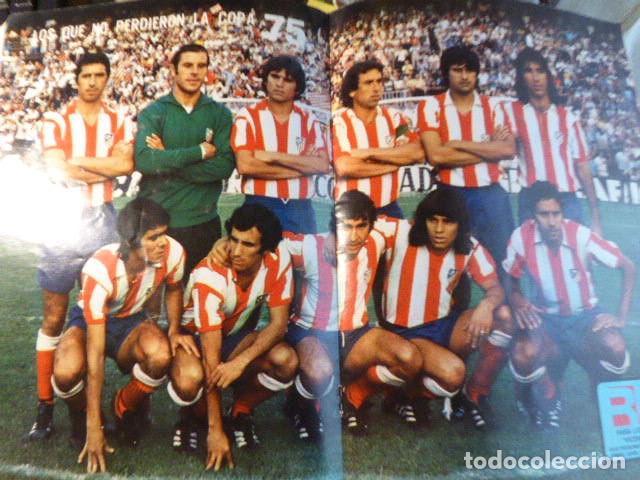 Coleccionismo deportivo: LOTE DE 13 REVISTAS DEL ATLETICO DE MADRID. AÑOS 70. LAS DE LAS FOTOS. - Foto 9 - 183541252
