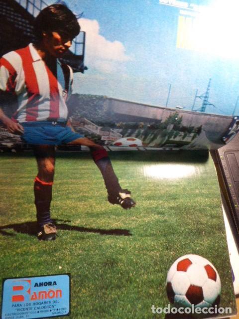 Coleccionismo deportivo: LOTE DE 13 REVISTAS DEL ATLETICO DE MADRID. AÑOS 70. LAS DE LAS FOTOS. - Foto 11 - 183541252