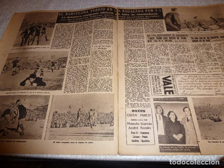 Coleccionismo deportivo: (LLL)OLIMPIA Nº: 21(3-2-53)BARÇA CAPIT.10,FIGURA:TERUEL,ESPAÑOL 2 R.MADRID 4,MALAGA 2 BARÇA 1 - Foto 3 - 183551098