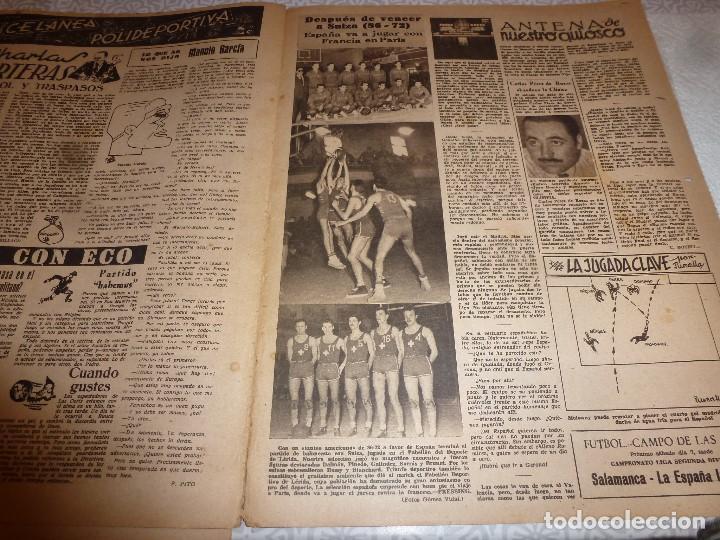 Coleccionismo deportivo: (LLL)OLIMPIA Nº: 21(3-2-53)BARÇA CAPIT.10,FIGURA:TERUEL,ESPAÑOL 2 R.MADRID 4,MALAGA 2 BARÇA 1 - Foto 9 - 183551098