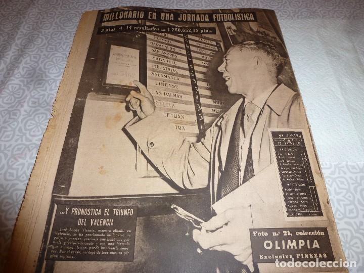 Coleccionismo deportivo: (LLL)OLIMPIA Nº: 21(3-2-53)BARÇA CAPIT.10,FIGURA:TERUEL,ESPAÑOL 2 R.MADRID 4,MALAGA 2 BARÇA 1 - Foto 10 - 183551098