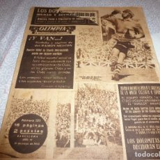 Coleccionismo deportivo: (LLL)OLIMPIA Nº: 132(31-5-55) COPA ZARAGOZA 0 ESPAÑOL 1 Y BILBAO-BARÇA. Lote 183555333