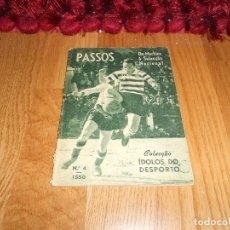 Coleccionismo deportivo: COLECCION IDOLOS DEL DEPORTE PORTUGAL COLECCAO IDOLOS DO DESPORTO 4 DO MACHICO A SELECCION NACIONAL. Lote 183567868