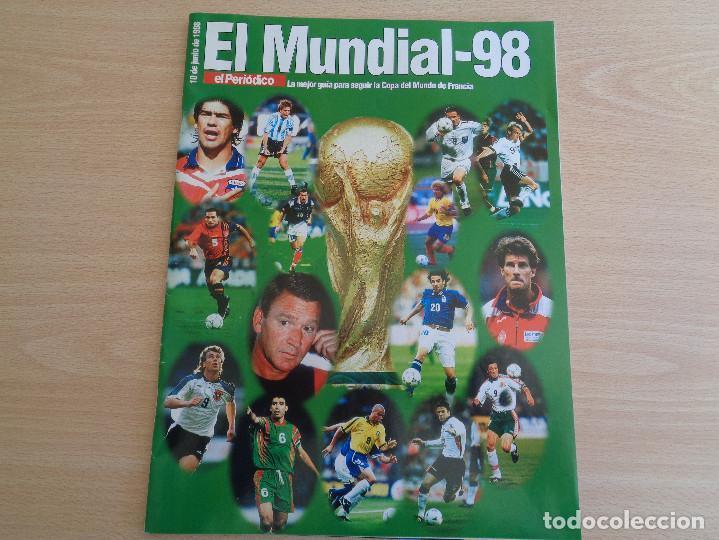 SUPLEMENTO EL PERIÓDICO MUNDIAL DE FUTBOL 98 (Coleccionismo Deportivo - Revistas y Periódicos - otros Fútbol)