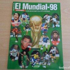Coleccionismo deportivo: SUPLEMENTO EL PERIÓDICO MUNDIAL DE FUTBOL 98. Lote 183591283