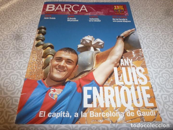 (LLL)F.C.BARCELONA Nº: 1(11-2002) POSTER SAVIOLA,ARTOLA Y OLMO,RECOPA BASILEA 1979 (Coleccionismo Deportivo - Revistas y Periódicos - otros Fútbol)