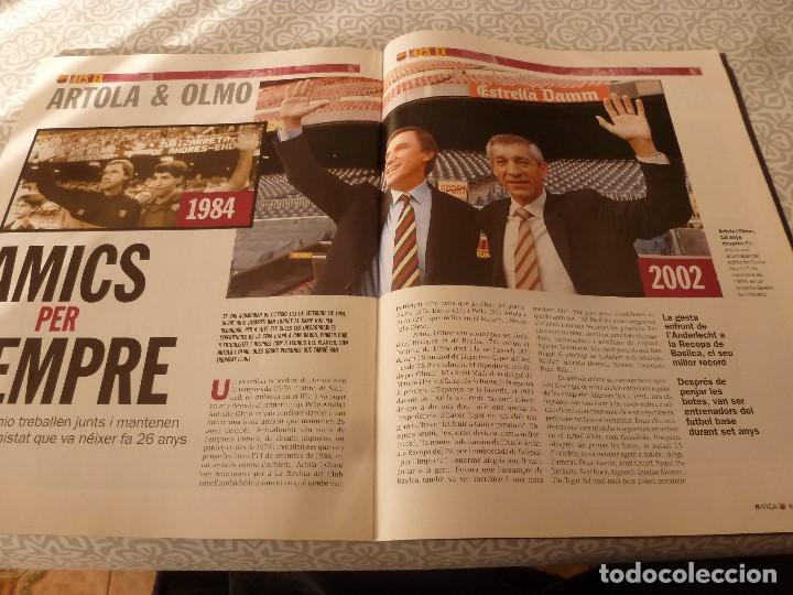 Coleccionismo deportivo: (LLL)F.C.BARCELONA Nº: 1(11-2002) POSTER SAVIOLA,ARTOLA Y OLMO,RECOPA BASILEA 1979 - Foto 3 - 183644437