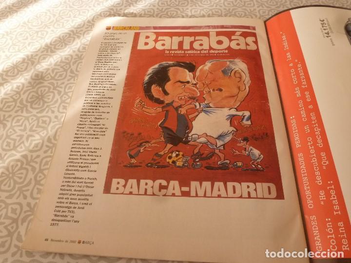 Coleccionismo deportivo: (LLL)F.C.BARCELONA Nº: 1(11-2002) POSTER SAVIOLA,ARTOLA Y OLMO,RECOPA BASILEA 1979 - Foto 5 - 183644437