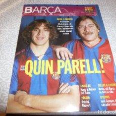 Coleccionismo deportivo: (LLL)F.C.BARCELONA Nº: 2(1-2003) POSTER KLUIVERT,PUYOL Y MIGUELI,LA FINAL DE LAS BOTELLAS 1968. Lote 183644587