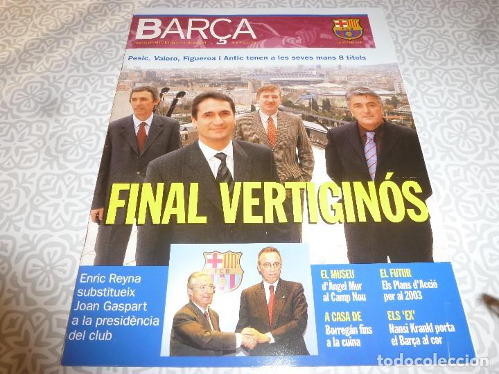 (LLL)F.C.BARCELONA Nº: 3(3-2003) POSTER SORIN,ANGEL MUR,KUBALA,HANSI KRANKL (Coleccionismo Deportivo - Revistas y Periódicos - otros Fútbol)