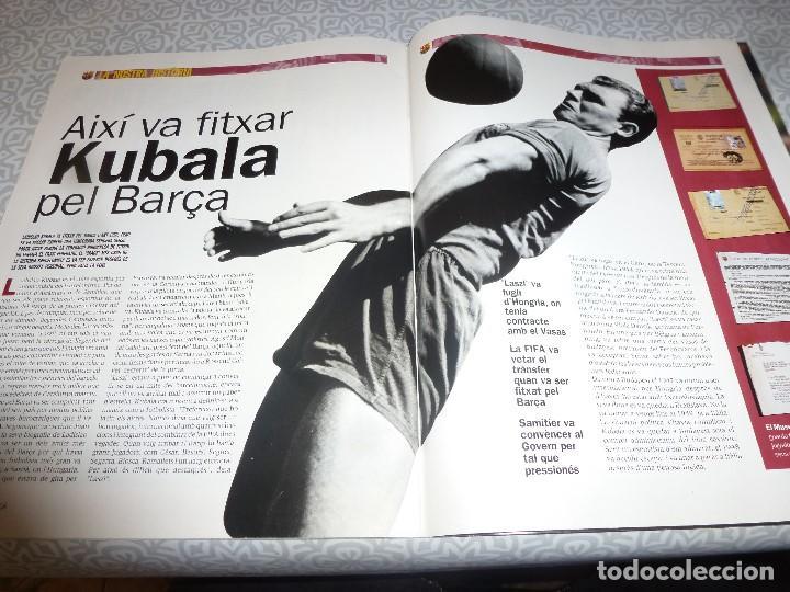 Coleccionismo deportivo: (LLL)F.C.BARCELONA Nº: 3(3-2003) POSTER SORIN,ANGEL MUR,KUBALA,HANSI KRANKL - Foto 5 - 183644748