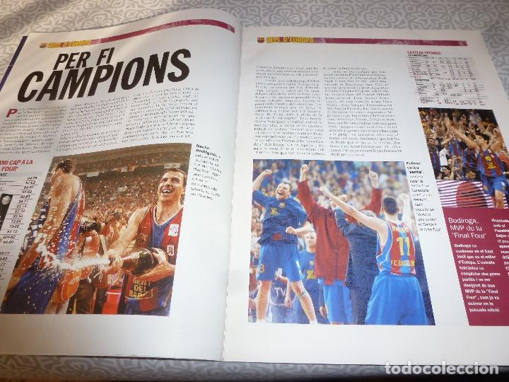Coleccionismo deportivo: (LLL)F.C.BARCELONA Nº: 4(5-2003) POSTER OVERMARS,PACO CLOS,BARÇA CAMPEÓN BASKET FINAL FOUR - Foto 2 - 183644936