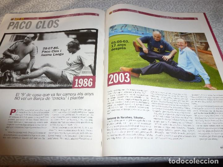 Coleccionismo deportivo: (LLL)F.C.BARCELONA Nº: 4(5-2003) POSTER OVERMARS,PACO CLOS,BARÇA CAMPEÓN BASKET FINAL FOUR - Foto 4 - 183644936