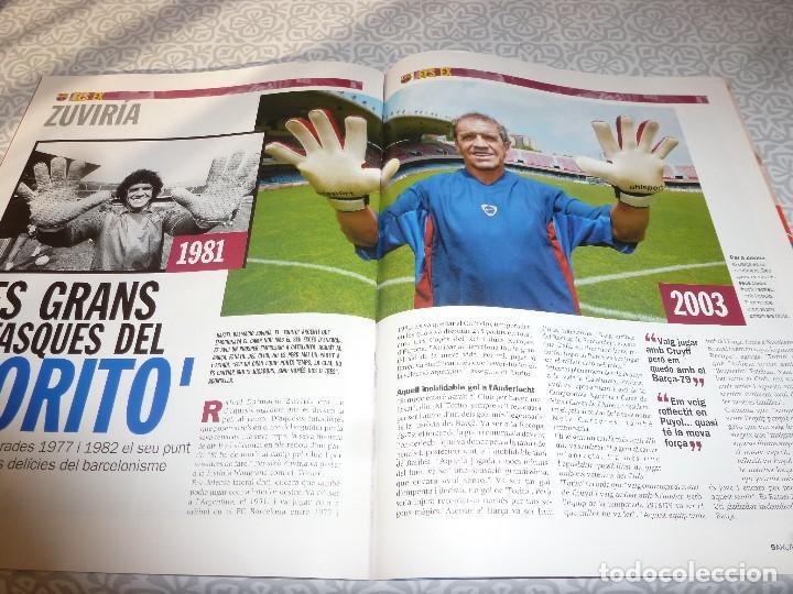 Coleccionismo deportivo: (LLL)F.C.BARCELONA Nº: 5(7 Y 8-2003) POSTER RONALDINHO,LIGA 1994,TORITO ZUVIRIA. - Foto 4 - 183646986