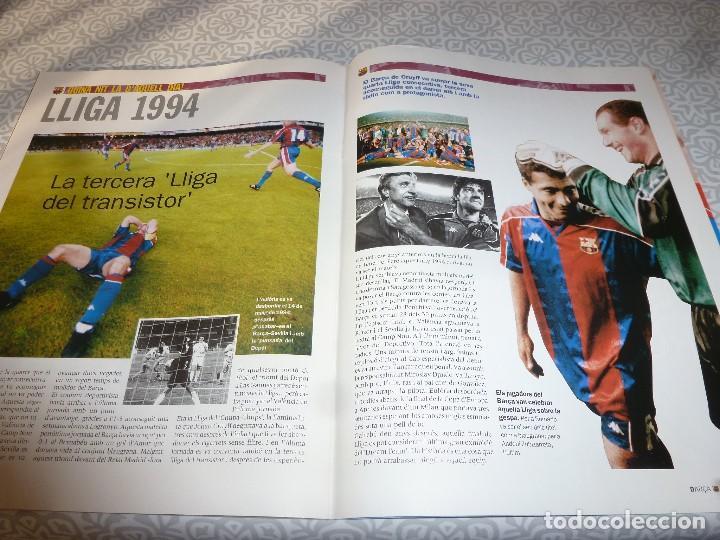 Coleccionismo deportivo: (LLL)F.C.BARCELONA Nº: 5(7 Y 8-2003) POSTER RONALDINHO,LIGA 1994,TORITO ZUVIRIA. - Foto 5 - 183646986