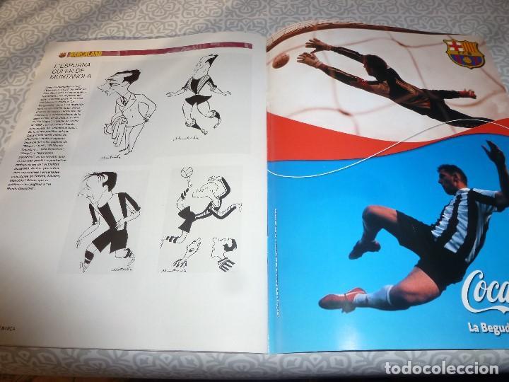 Coleccionismo deportivo: (LLL)F.C.BARCELONA Nº: 5(7 Y 8-2003) POSTER RONALDINHO,LIGA 1994,TORITO ZUVIRIA. - Foto 6 - 183646986