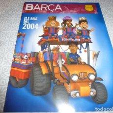 Coleccionismo deportivo: (LLL)F.C.BARCELONA Nº: 6(12-2003) POSTER LUIS,GARCIA,BARÇA-DINAMO KIEV,RAMALLETS. Lote 183647430
