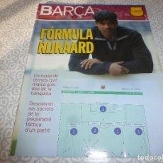 Coleccionismo deportivo: (LLL)F.C.BARCELONA Nº: 8(5-2004) POSTER VICTOR VALDÉS,ALDECOA,GONZALVO III. Lote 183647745