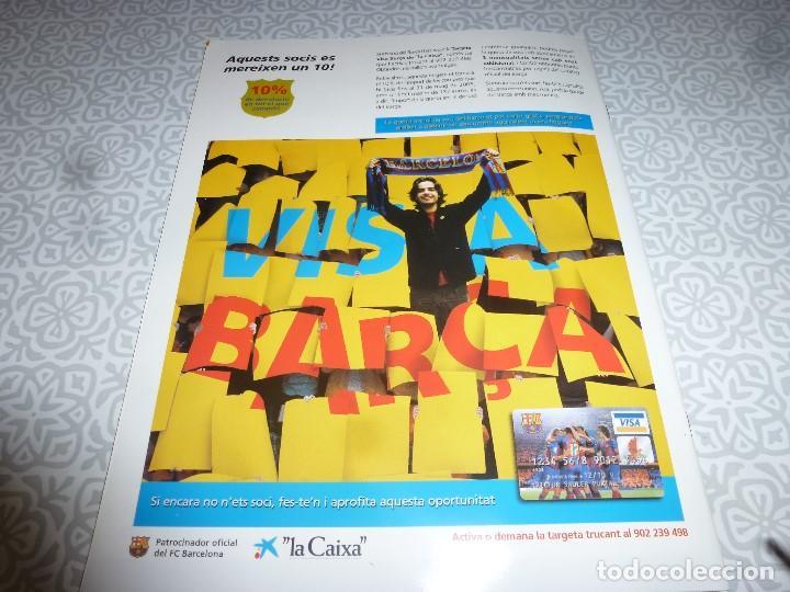 Coleccionismo deportivo: (LLL)F.C.BARCELONA Nº: 12(2-2005) POSTER RONALDINHO,RUD HESP - Foto 6 - 183653570