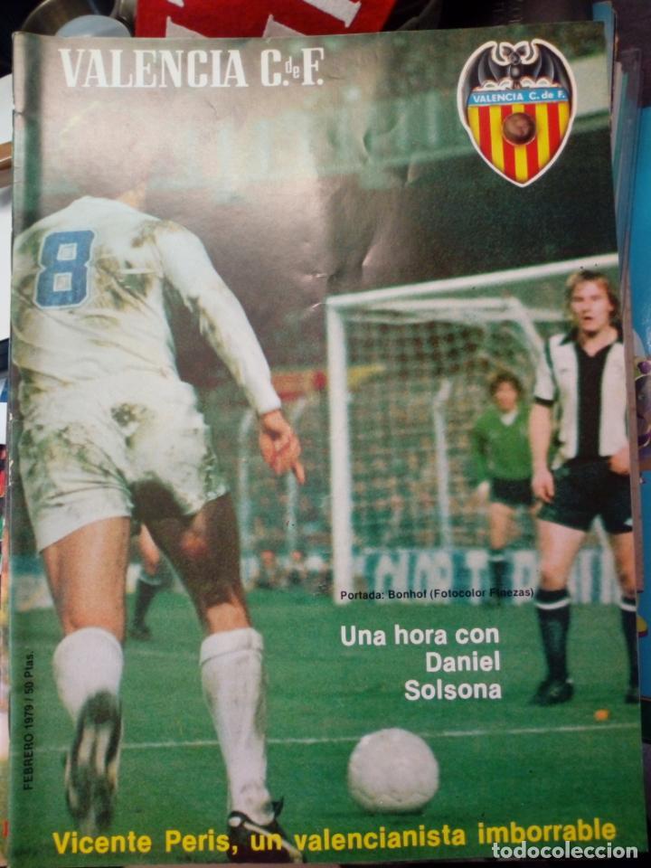 Coleccionismo deportivo: LOTE DE 10 REVISTAS - REVISTA VALENCIA C.F. - 1979 - Foto 3 - 183773232
