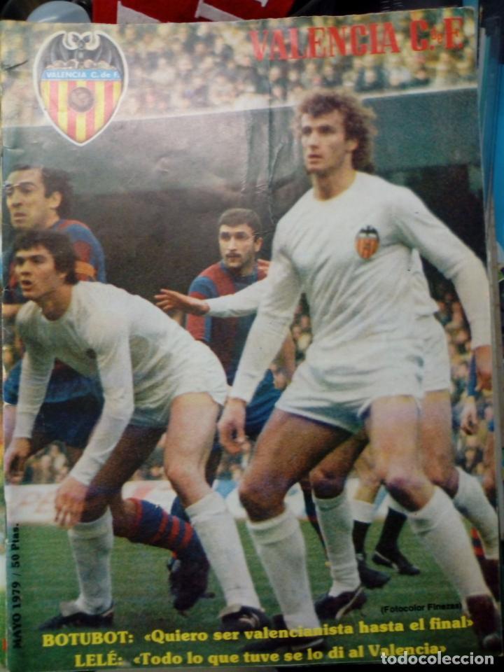 Coleccionismo deportivo: LOTE DE 10 REVISTAS - REVISTA VALENCIA C.F. - 1979 - Foto 4 - 183773232