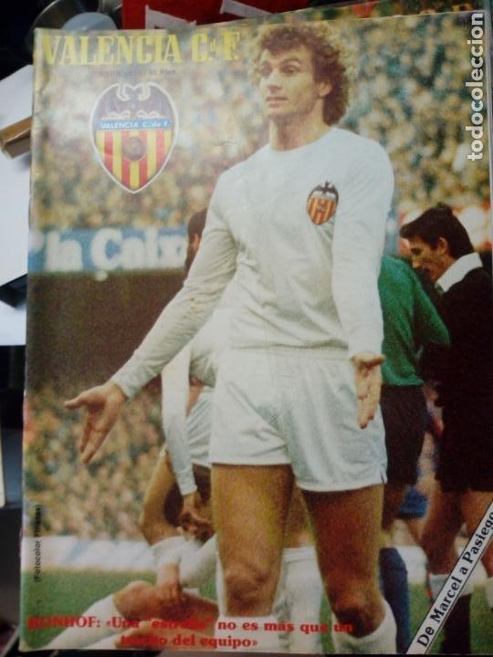Coleccionismo deportivo: LOTE DE 10 REVISTAS - REVISTA VALENCIA C.F. - 1979 - Foto 5 - 183773232