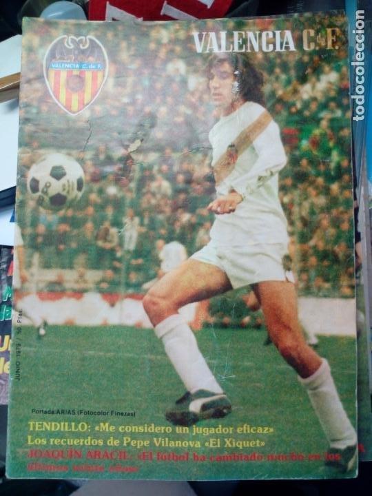 Coleccionismo deportivo: LOTE DE 10 REVISTAS - REVISTA VALENCIA C.F. - 1979 - Foto 6 - 183773232