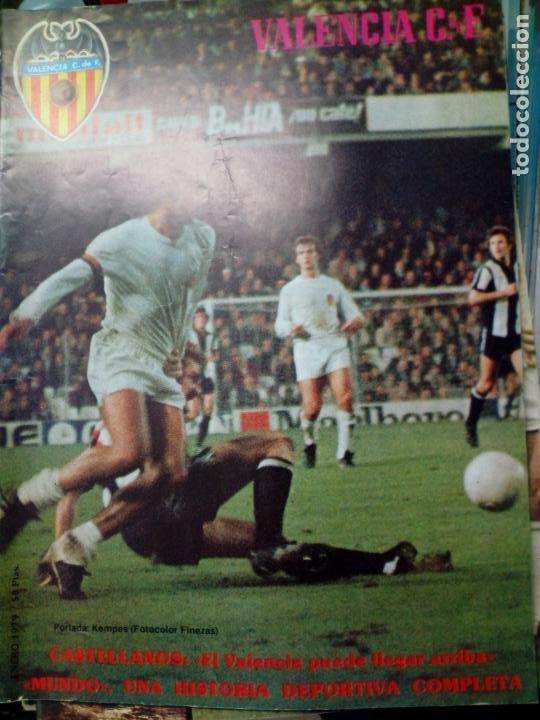Coleccionismo deportivo: LOTE DE 10 REVISTAS - REVISTA VALENCIA C.F. - 1979 - Foto 8 - 183773232