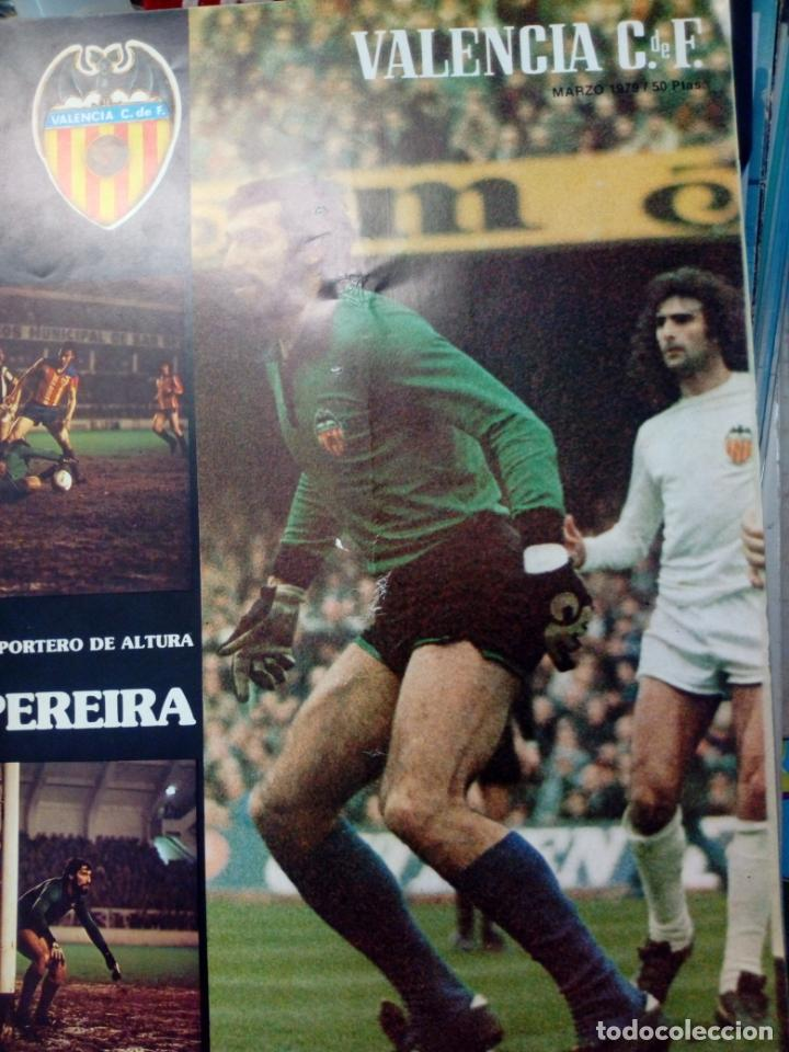 Coleccionismo deportivo: LOTE DE 10 REVISTAS - REVISTA VALENCIA C.F. - 1979 - Foto 9 - 183773232