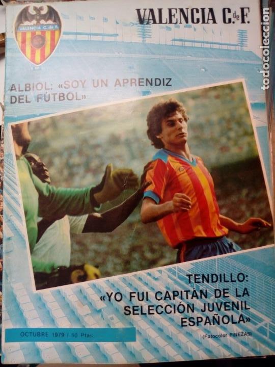 Coleccionismo deportivo: LOTE DE 10 REVISTAS - REVISTA VALENCIA C.F. - 1979 - Foto 10 - 183773232