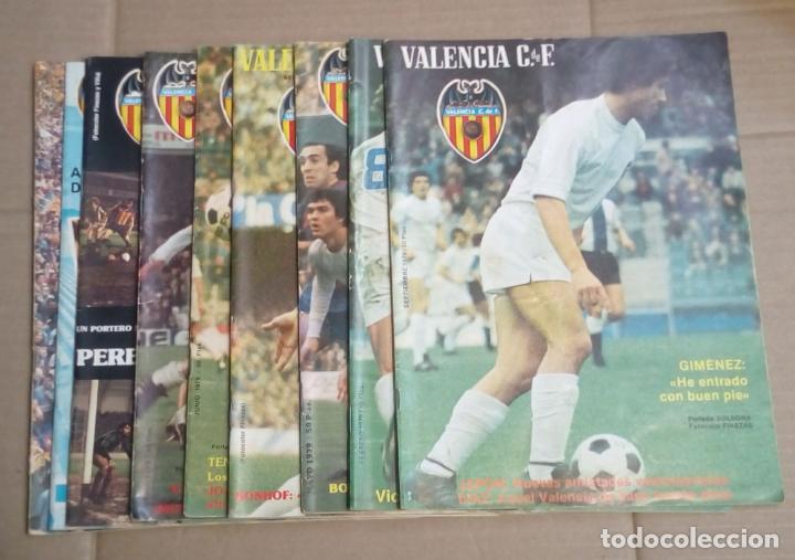 LOTE DE 10 REVISTAS - REVISTA VALENCIA C.F. - 1979 (Coleccionismo Deportivo - Revistas y Periódicos - otros Fútbol)