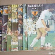 Coleccionismo deportivo: LOTE DE 10 REVISTAS - REVISTA VALENCIA C.F. - 1979 . Lote 183773232