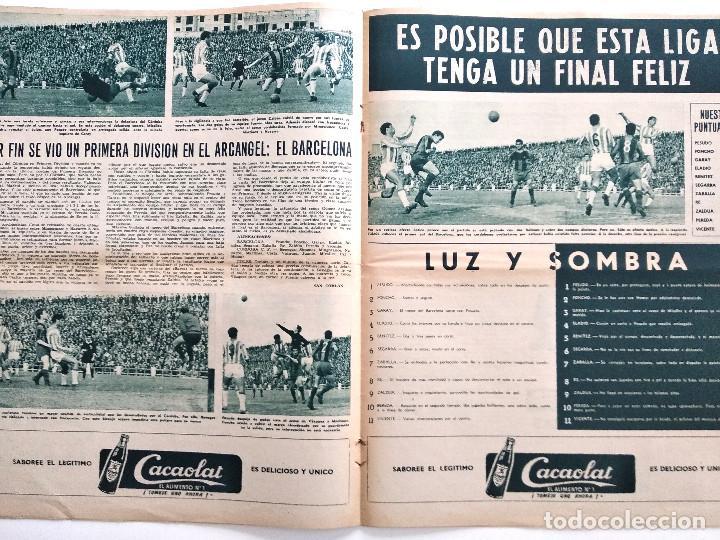 Coleccionismo deportivo: BARÇA Nº 385 - SASOT ENTRENADOR DEL CONDAL - EL BARCELONA - EL OSASUNA - AÑO 1963 - Foto 2 - 183782638