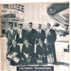Coleccionismo deportivo: BARÇA Nº 185 - LA ZONA DEPORTIVA DEL BARCELONA - LUIS SUAREZ - DI STEFANO - EL BARCELONA - AÑO 1959. Lote 183783763