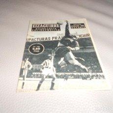 Coleccionismo deportivo: COLECCIÓN IDOLOS DEL DEPORTE Nº 50 EIZAGUIRRE REAL SOCIEDAD, FÚTBOL, LIGA ESPAÑOLA AÑOS 50. Lote 183823820