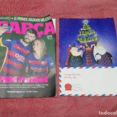 Coleccionismo deportivo: BARÇA Nº 78 (DICIEMBRE 2005 / ENERO 2006) - EN PORTADA: PIQUÉ Y SHAKIRA - (66 PÁGINAS EN CATALÁN). Lote 183825081