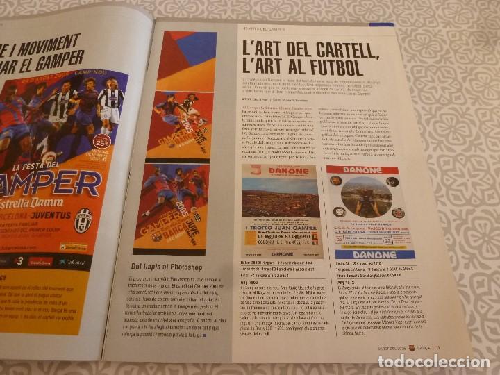 Coleccionismo deportivo: (LLL)F.C.BARCELONA Nº: 16(8-2005)POSTER VAN BOMMEL Y EZQUERRO,40 AÑOS DEL GAMPER,RODRI. - Foto 2 - 183838545