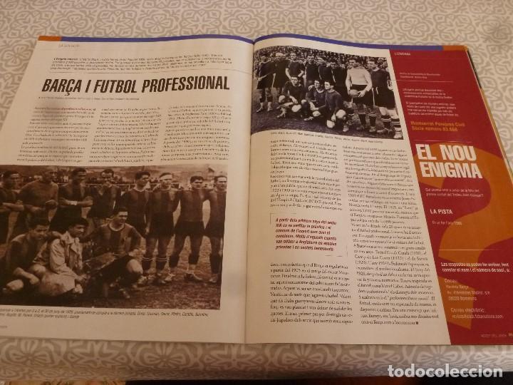 Coleccionismo deportivo: (LLL)F.C.BARCELONA Nº: 16(8-2005)POSTER VAN BOMMEL Y EZQUERRO,40 AÑOS DEL GAMPER,RODRI. - Foto 5 - 183838545