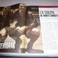 Coleccionismo deportivo: (LLL)F.C.BARCELONA Nº: 20(4-2006)POSTER CAMP NOU BARÇA-CHELSEA,CASO DI STEFANO,EL 11-1 DEL MADRID.. Lote 183840318