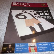 Coleccionismo deportivo: (LLL)F.C.BARCELONA Nº: 23(10-2006)POSTER BARÇA 2006-07,1980 BARÇA 3 HUMANE STARS 2,PAULINO ALCANTARA. Lote 183841406