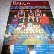 Collectionnisme sportif: (LLL)F.C.BARCELONA Nº: 25(2-2007)POSTER 50 AÑOS CAMP NOU,J.FELIX PONS,JOAQUIN BLUME,BARÇA Y MUJERES. Lote 183876862