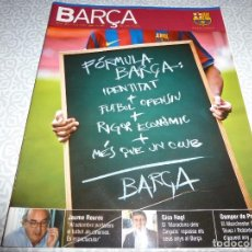 Coleccionismo deportivo: (LLL)F.C.BARCELONA Nº: 40(8-2009)POSTER IBRAHIMOVIC,GARCHITORENA ACTOR,DESPEDIDA KUBALA. Lote 183879503