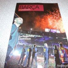 Coleccionismo deportivo: (LLL)F.C.BARCELONA Nº: 45(7-2010)LA LIGA 2009-10,DAVID VILLA,COPA FERIAS 1965. Lote 183895628