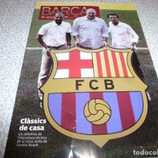 Coleccionismo deportivo: (LLL)F.C.BARCELONA Nº: 46(8 Y 9-2010)UN MUNDIAL DE AZULGRANA,SANDRO ROSELL,SERRAT AL CAMP NOU. Lote 183895995